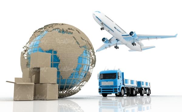 ارسال اثاثیه باهواپیما و تریلی به استانبول