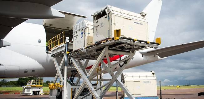 ارسال اثاث به صورت هوایی به مرسین