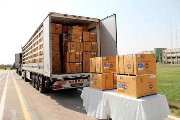 ارسال بار از تهران به آنتالیا