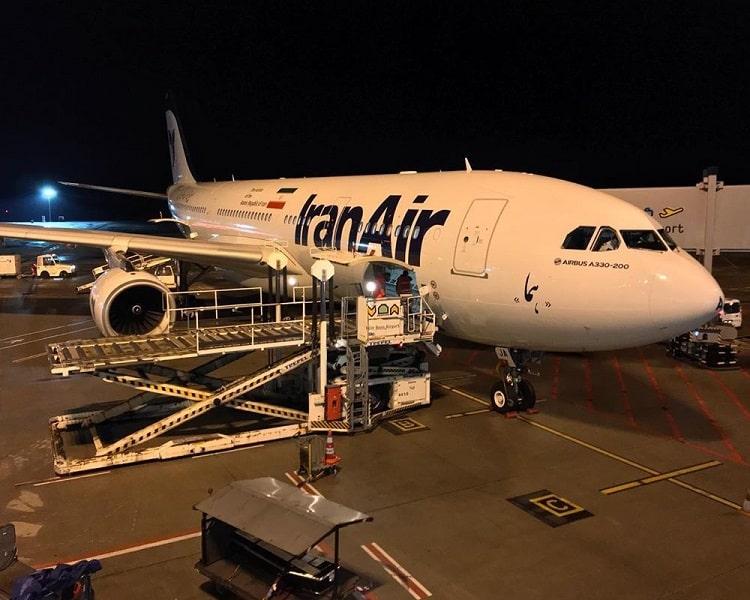 ارسال بار هوایی به ترکیه از شرکت هواپیمایی ایران ایر