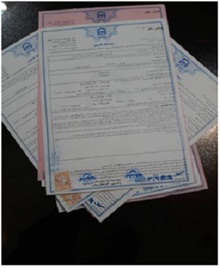 بیمه نامه باربری به ترکیه