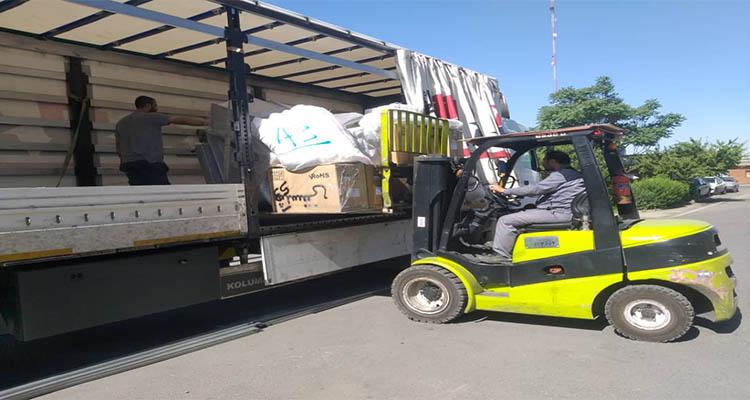 حمل اثاثیه منزل به وان ترکیه