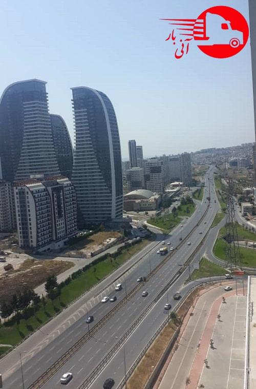 ارسال اثاث از استانبول به ایران2