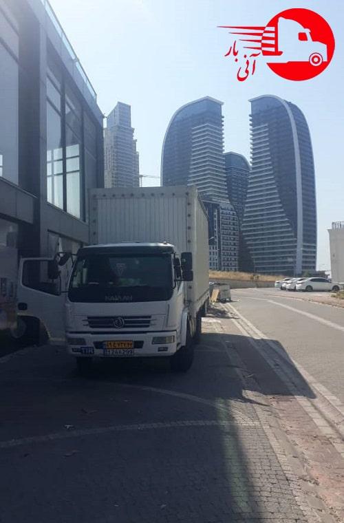 ارسال بار از استانبول به ایران1