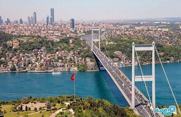 ارسال بار از اهواز به استانبول